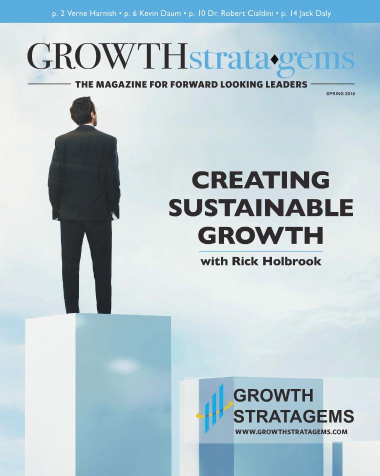 Growth Strata•Gems Magazine Growth Strata•Gems Magazine Spring 2018
