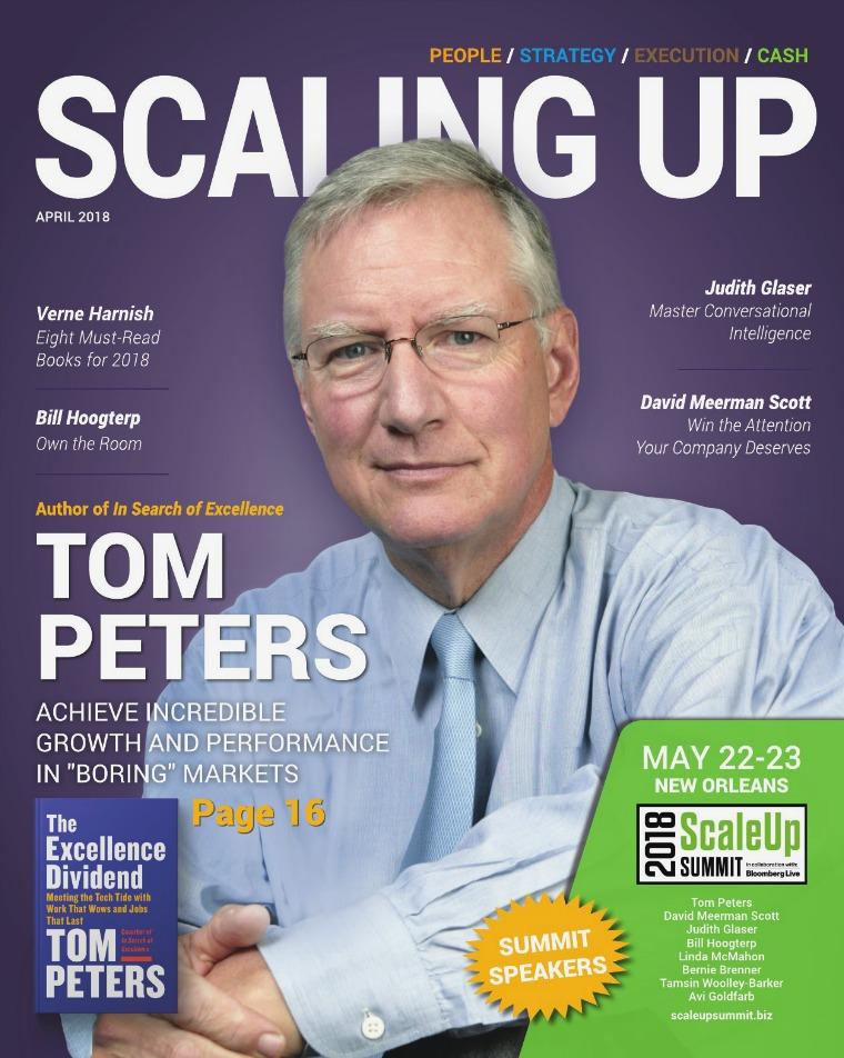 Scaling Up Magazine Scaling Up Magazine April 2018