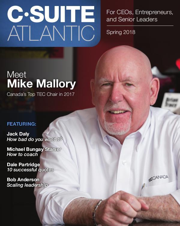 Industry Magazine C•Suite Atlantic Magazine Spring 2018