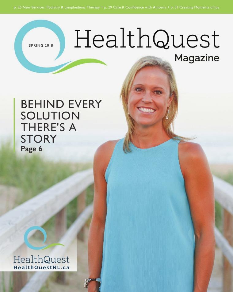 Health & Wellness Magazine HealthQuest Spring 2018