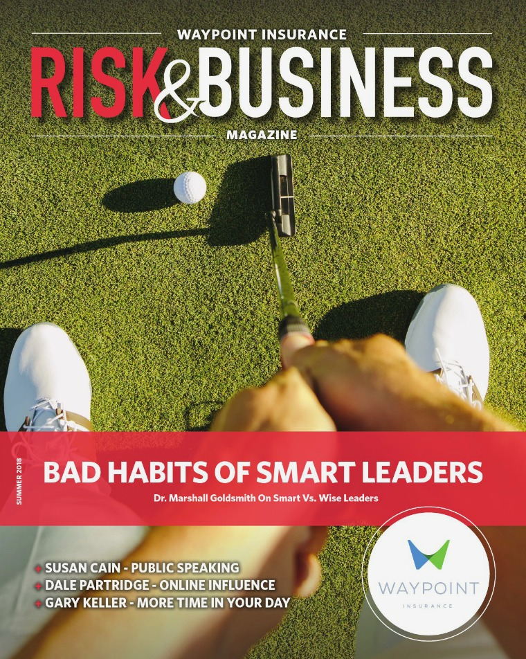 Waypoint Insurance - Risk & Business Magazine Waypoint Risk & Business Magazine 2018