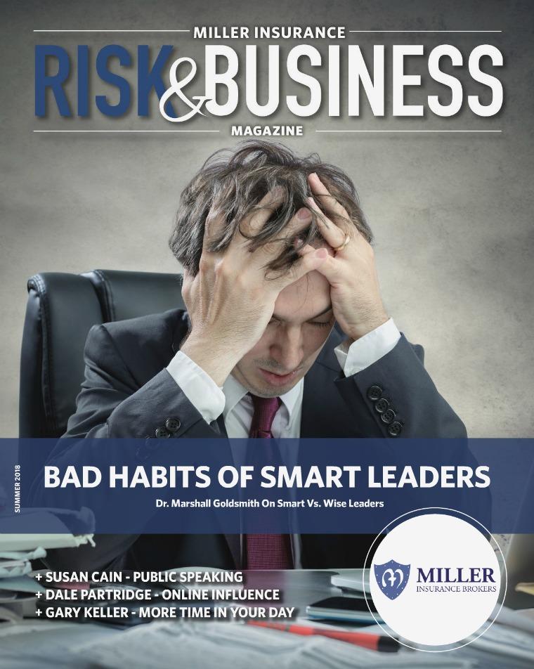 Risk & Business Magazine Miller Insurance Magazine Summer 2018
