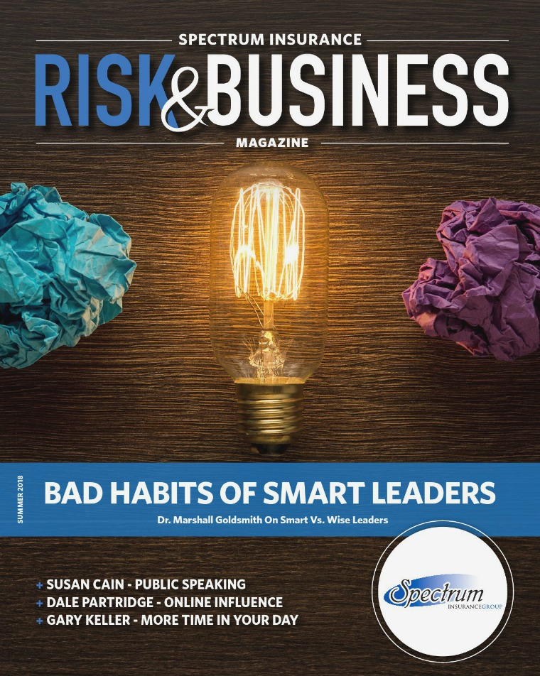 Risk & Business Magazine Spectrum Insurance Magazine Summer 2018