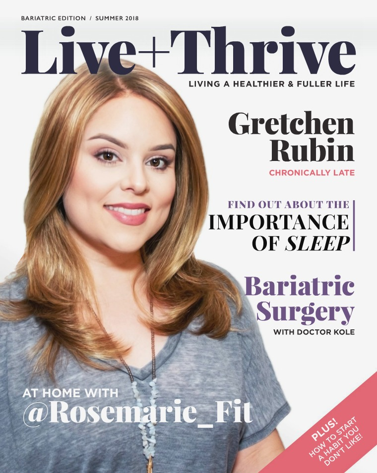 Live + Thrive Magazine -  Summer 2018