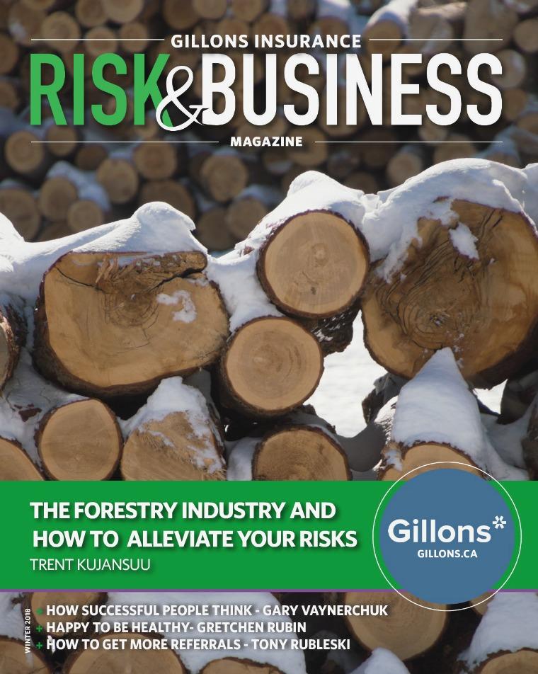 Gillons Insurance Magazine Winter 2018