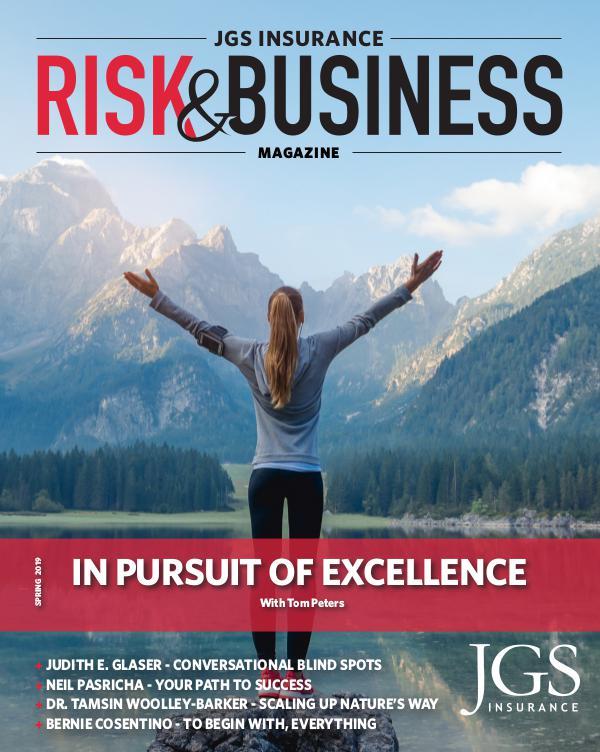 Risk & Business Magazine JGS Insurance Magazine Spring 2019