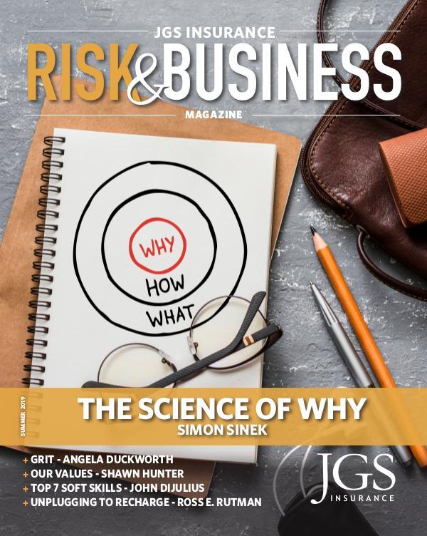 Risk & Business Magazine JGS Insurance Magazine - Summer 2019