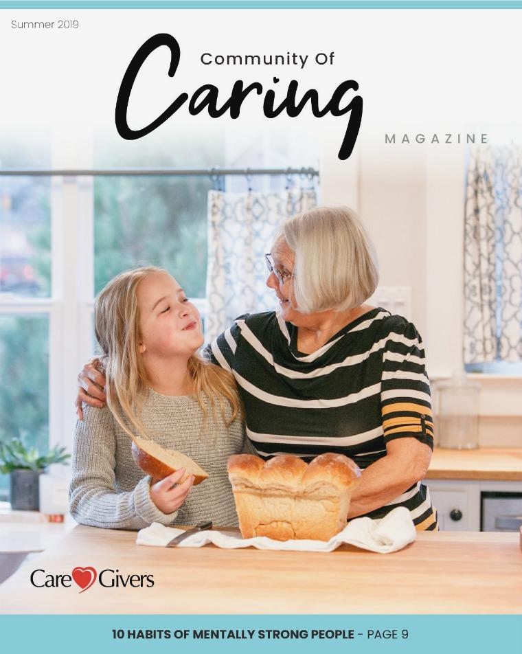 Health & Wellness Magazine Community Of Caring - Summer 2019