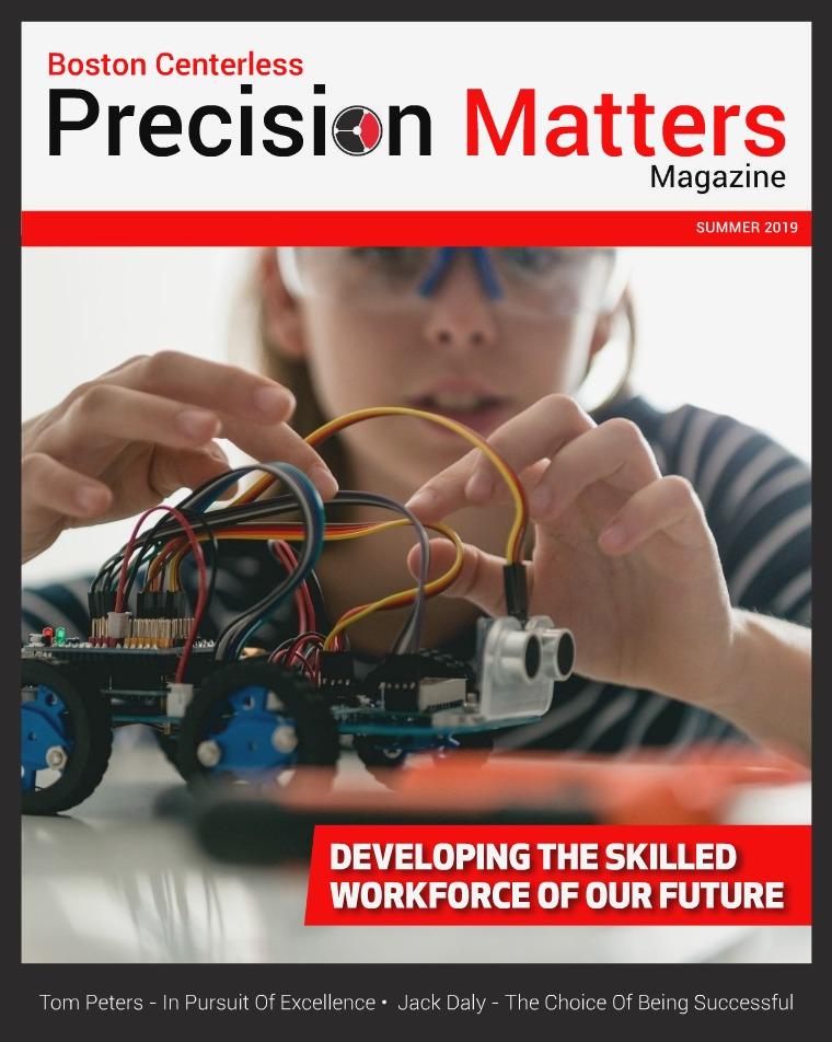 Industry Magazine Boston Centerless Precision Matters Summer 2019