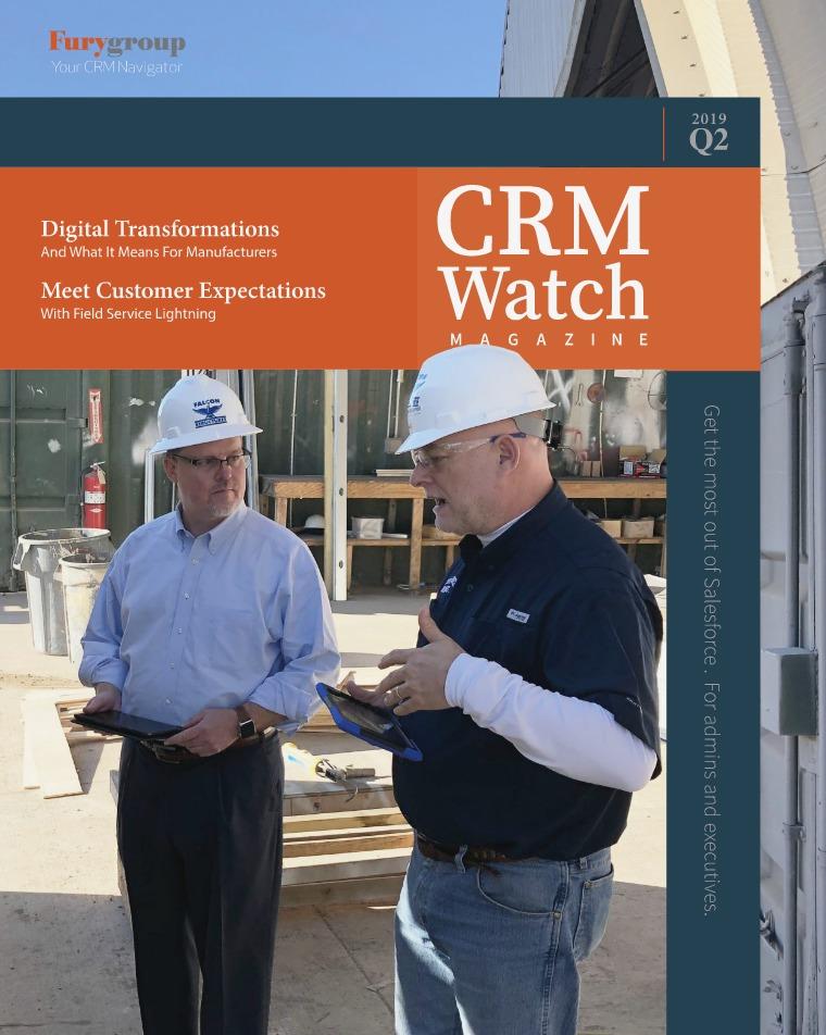 Industry Magazine CRM Watch Summer 2019