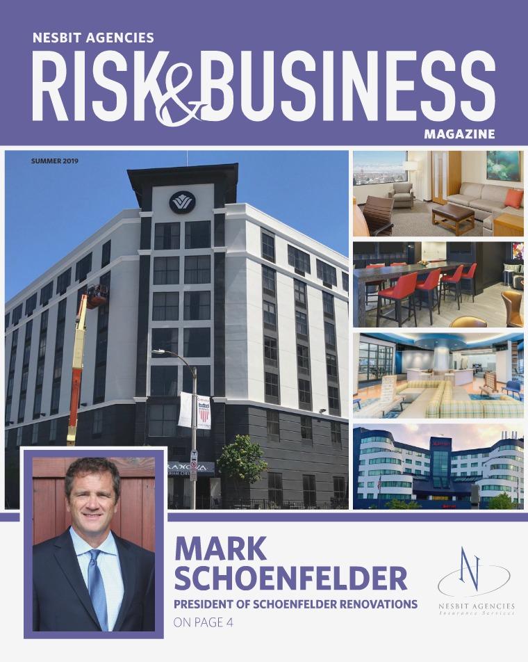 Risk & Business Magazine Nesbit Agencies Magazine Summer 2019