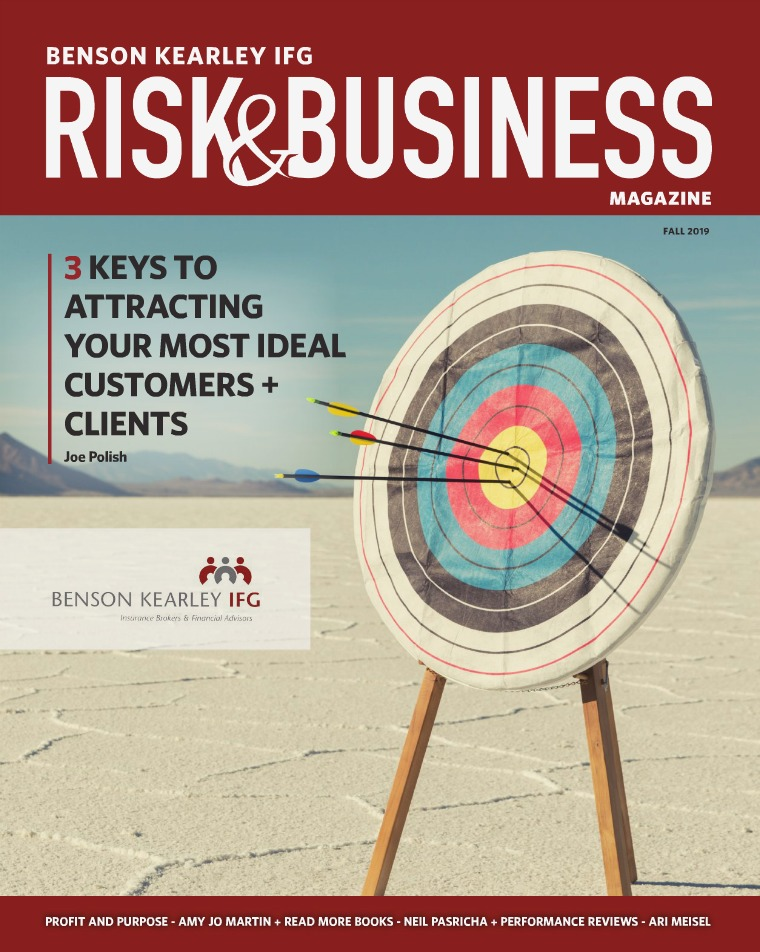 Risk & Business Magazine Benson Kearley IFG Fall 2019