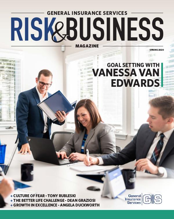 Risk & Business Magazine General Insurance Services Spring 2020