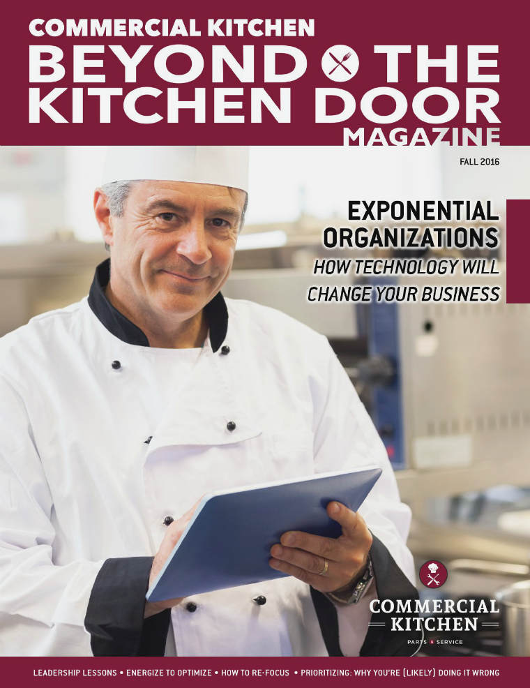 Industry Magazine Commercial Kitchen Fall 2016