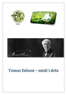 Tomas Edison - misli i dela