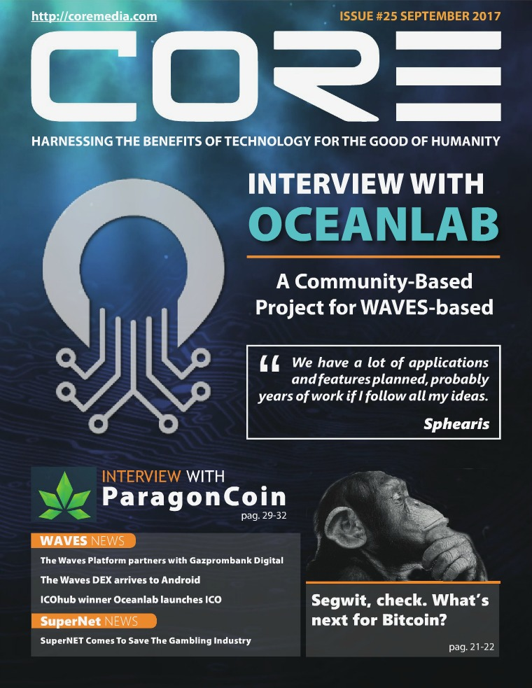 CORE MAGAZINE September 2017