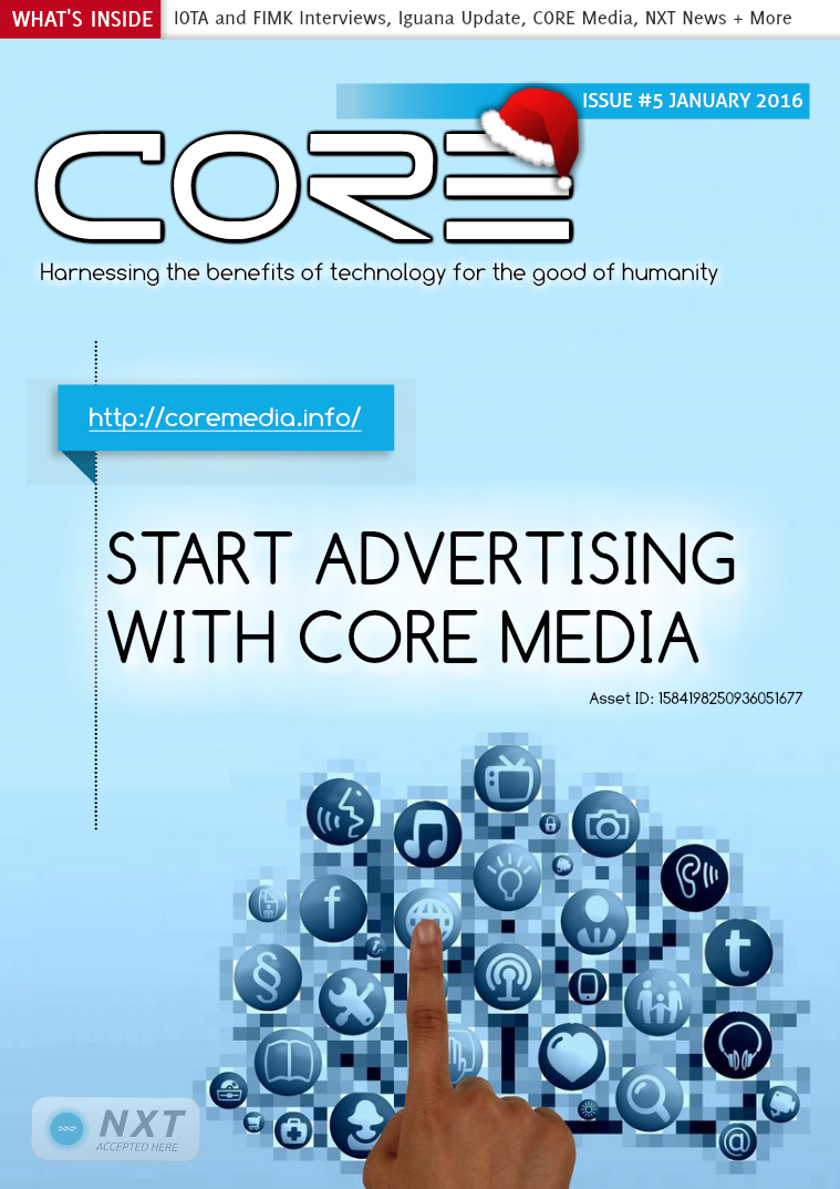 CORE MAGAZINE January 2016