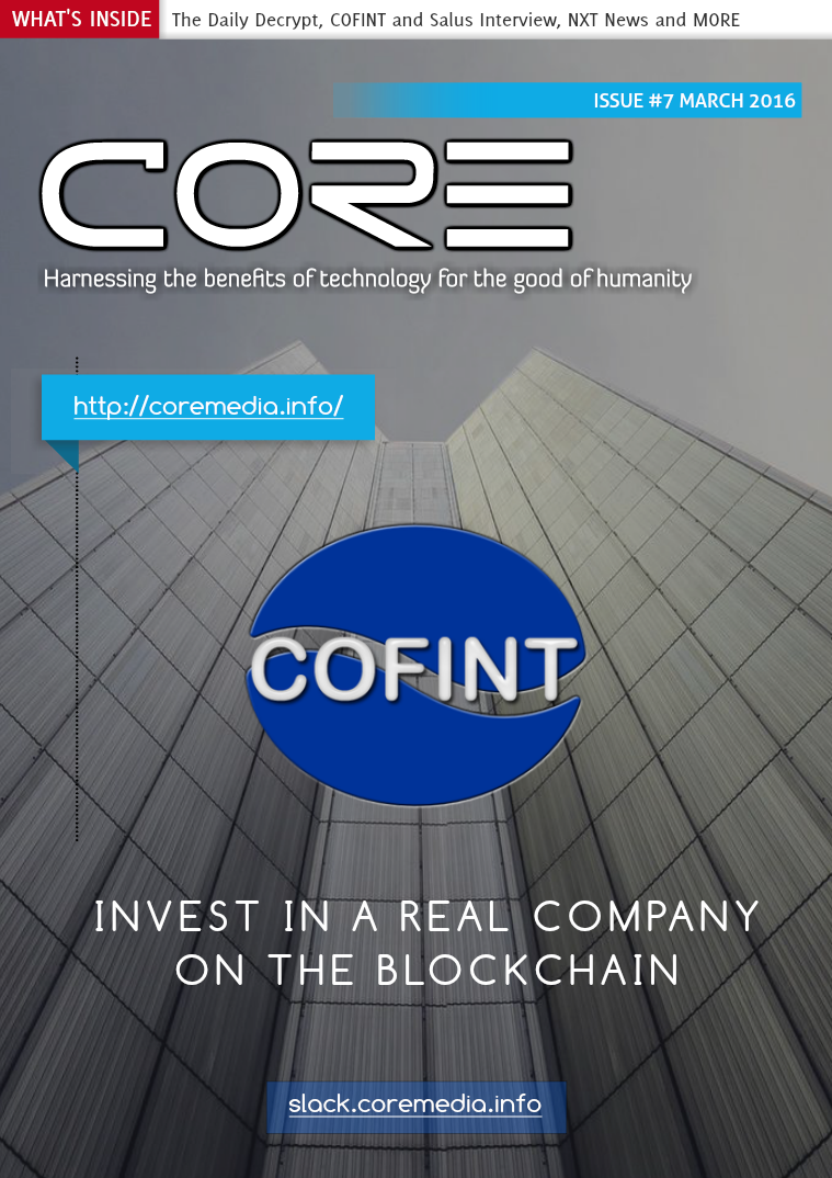 CORE MAGAZINE March 2016
