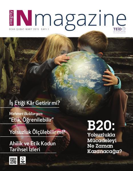 INmagazine Sayı: 1 (Ocak - Şubat - Mart)