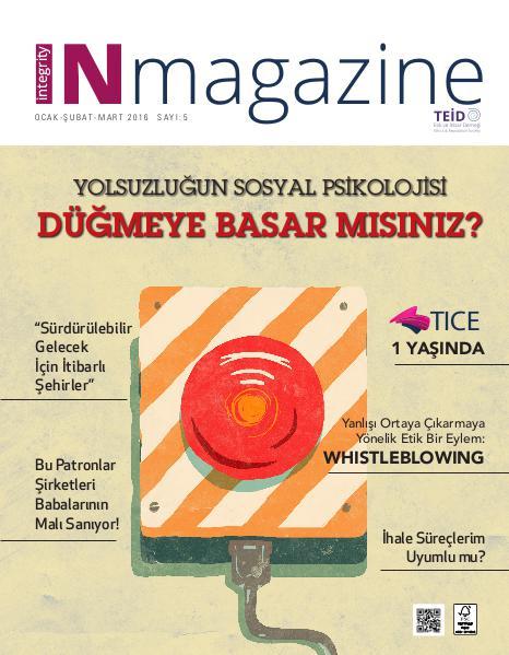 INmagazine Sayı : 5 (Ocak - Şubat - Mart)