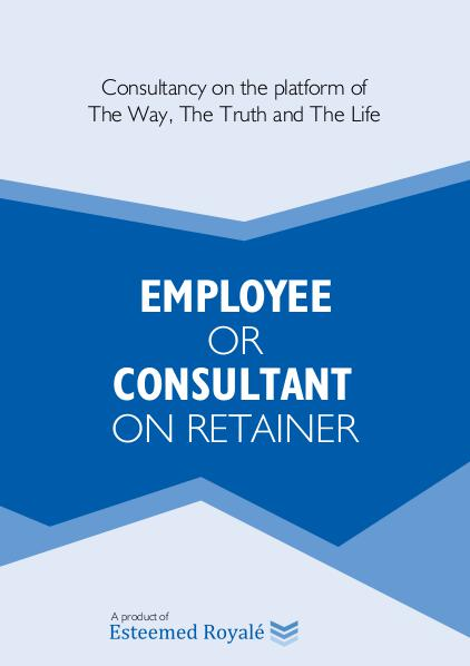 E-books Employee or Consultant on Retainer