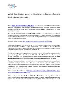 Vehicle Electrification Market 2017