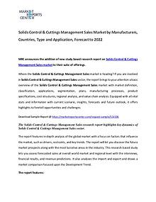 Solids Control & Cuttings Managemen Market 2017