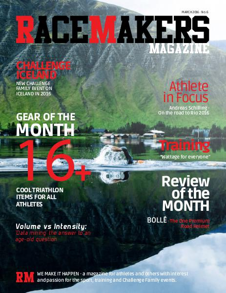 RACEMAKERS Magazine March 2016