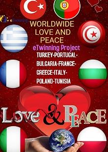 worldwide love and peace
