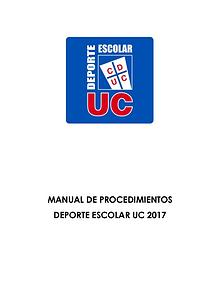 Deporte Escolar UC