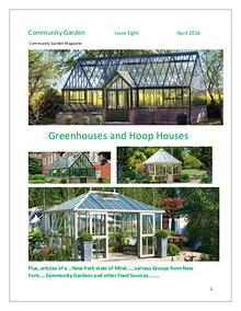 Community Garden Magazine  Issue Eight  April 2016