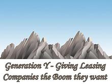 Generation Y - Giving Leasing Companies the Boom they want