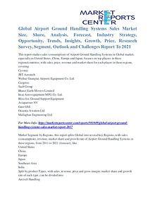Airport Ground Handling Systems Sales Market Opportunities Till 2021