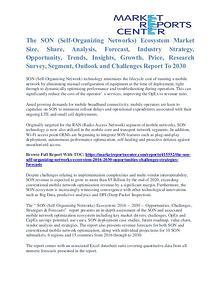 The SON (Self-Organizing Networks) Ecosystem Market Key Vendors 2030