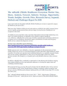 The MHealth (Mobile Healthcare) Ecosystem Market Outlook To 2030