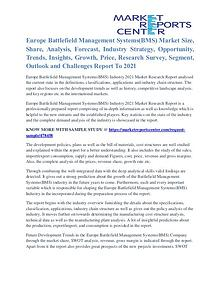 Europe Battlefield Management Systems(BMS) Market Key Vendors To 2021
