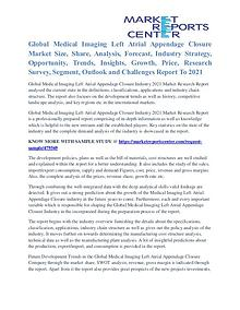 Medical Imaging Left Atrial Appendage Closure Market Strategy To 2021