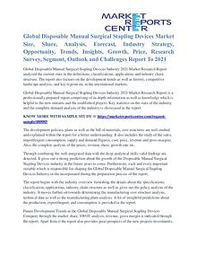 Disposable Manual Surgical Stapling Devices Market Key Vendors 2021