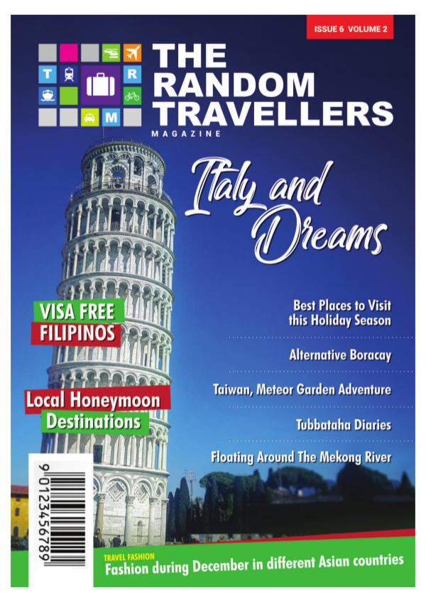 The Random Travellers E-Magazine Issue 6 Volume 2