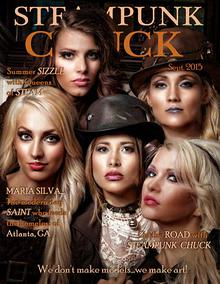 SteamPunk Chuck eMag Sept.2015