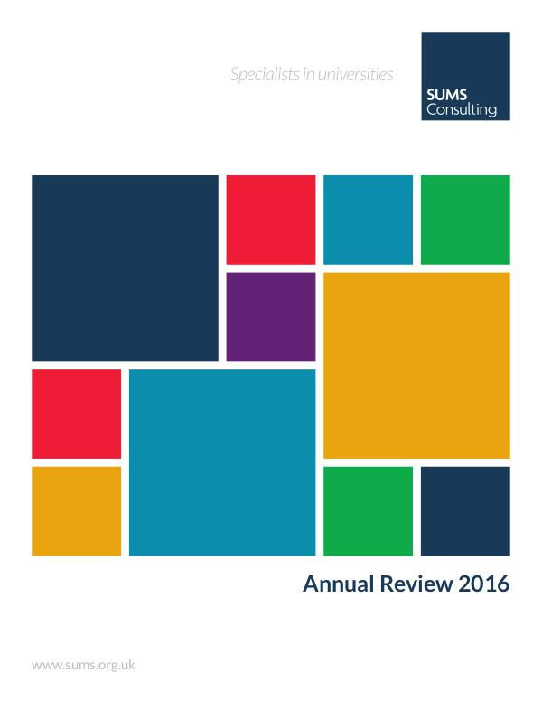 SUMS Annual Review 2016 2016