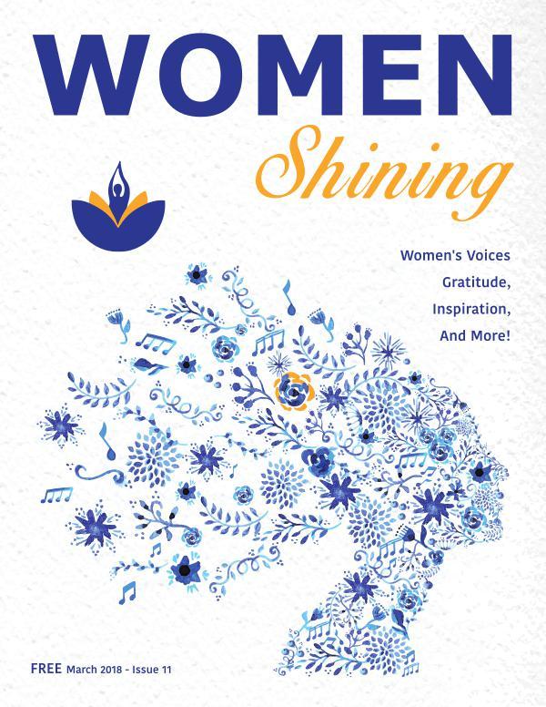 Women Shining Magazine Women Shining Spring 2018