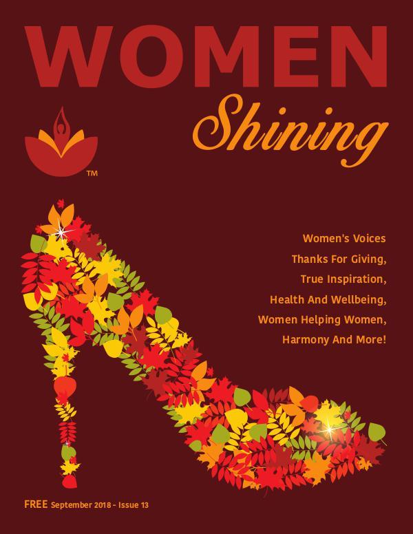 Women Shining Magazine Women Shining Fall 2018