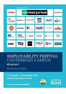Canterbury Employability Festival 2017 Programme