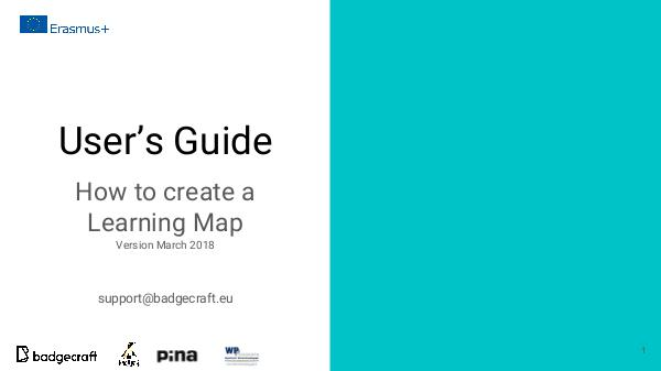 Learning Map Userguide Learning Map users guide