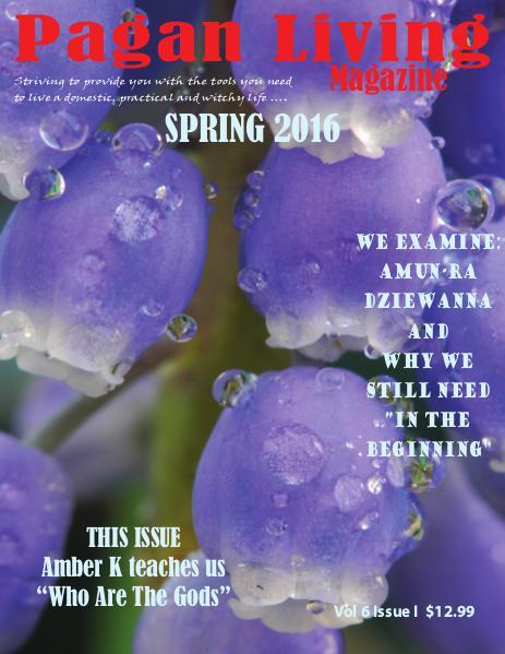 Pagan Living Magazine Spring 2016