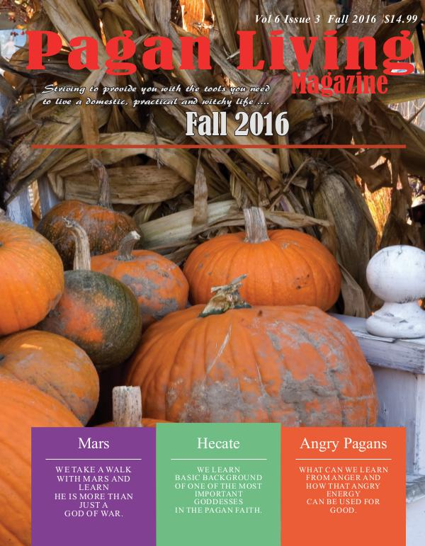 Pagan Living Magazine Fall 2016