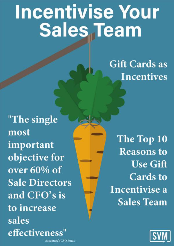 Incentivise Your Sales Team