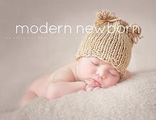 Modern Newborn Magazine for Therese Johnson Photography