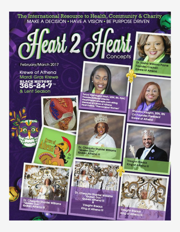 Heart 2 Heart Concepts Magazine February/March 2017